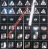 diamond decorative crystal