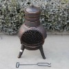 Popular Bronze Color Chimenea
