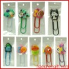 animal soft pvc bookmark clip/animal favorite decoration