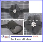 new style chiffon flower with rhinestone hair band and headband