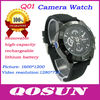 New design Removable Battery and memory card, hidden HD 1280*720 camera watch