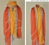 fashion new design ladies summer popular LACE scarf S149