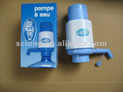 plastic manual drinking water pump for bottled water hand pump