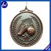 3D metal soccer medals