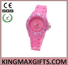 charm silicone watch for women(girls)