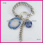 Imitation Stone Fabric Wrap Link Chain Lady Bracelet,Guangzhou Jewelry
