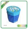 Folding storage box stool(XC-S-07)