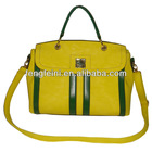 G980(Yellow) Popular color Tote Bag w/ front strap