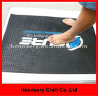 soft pvc 3D small moq custom rubber door mat