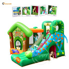 Jungle Fun-9139 Giraffe Slide Bouncer