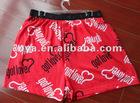 plus size underwear for men boxer with pringting