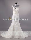 Elegant Trumpet-Mermaid Sweetheart Ivory Lace wedding dress 2012