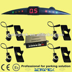 OE sensor, Slim LED display parking sensor, sensitivity adjust high and low