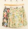 Beautiful Floral Short Skirt