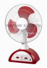 "12"" 14"" 16"" AC & DC fan,emergency fans w/ LED light"