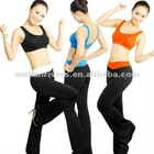 dry fit sexy ladies yoga clothes