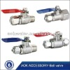 stainless steel 2 way ball valve