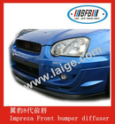 front bumper lip for Subaru Impreza