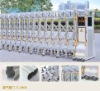 Electric expandable gate