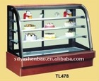 ordinary temperature cake showcase with 3 shelf