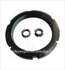 GB 812 large size Black Zinc Slotted Nut