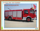 Famous Dongfeng 4*2 fire trucks for sale in europe