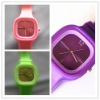 Jelly Wrist Watch multicolor Unisex silicone sports