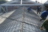 Headerboard steel bar truss girder roofing deck