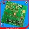 2L metal core pcb board with green ink