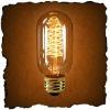 Antique Edision Rustika Nostalgic Spiral T14 Carbon Filament Bulb