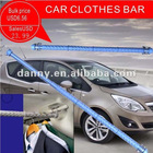 NEW PRODUCTS OF ADJUSTABLE CAR CLOTHES BAR OF suit hanger with hanging bar