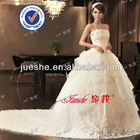 Fashion Quality Trustful Audited Alibaba Spaghetti Strap Satin Wedding Dress