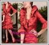 2012 Crazy Selling Red Taffeta Top Supplier mother dress
