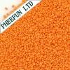 Orange speckle washing powder speckles