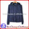 plus size velour long sleeves ladies hoodies