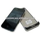 Rechargeable Power Case for iPhone 4/4S, with 1,500mAh Capacity