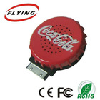 beer cap usb computer mini speaker