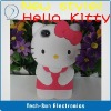 Wholesale Newest Fashion 3D hello kitty Case For iPhone 4 4S Back Flip Cover