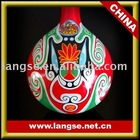 Chinese ladle painted face for home decoration