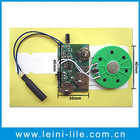 Sound module with motion sensor