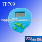digital pedometer with stop watch with calorie and alarm clock