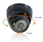 CCTV Security Camera Dome LED Light IR Day Night+wide angle 1/3 CCD