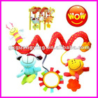 baby plush musical mobile toy