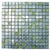 silver stainless steel metal mosaic tile for kitchen decoration