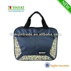 Blue briefcase/shoulder bag/messenger bag