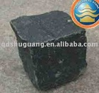 Black Basalt cubestone,The cubestone,Pebble,Cobble.
