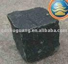 Black Basalt cubestone,The cubestone,Pebble,Cobble.