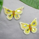 40*35mm polymer clay butterfly accessories | fake butterfly