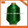 Grass green MX knitting metallic yarn