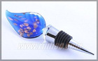 murano glass wine bottle stopper